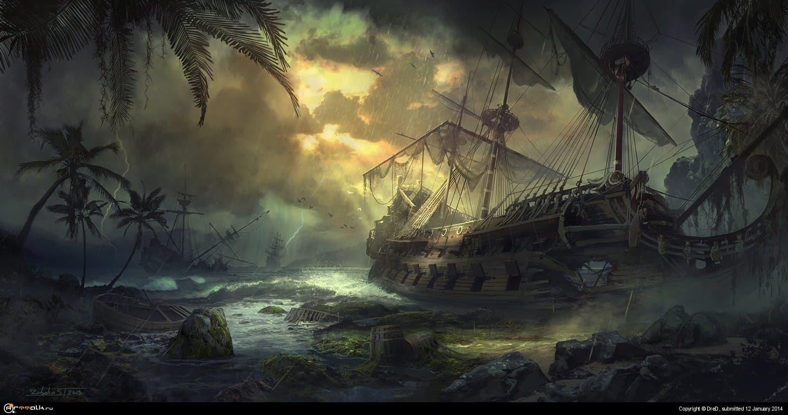 Graveyard Of Ships
