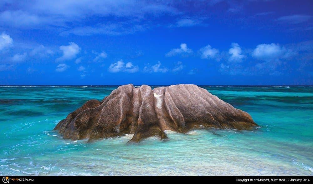 Seychelles, Quaint Granite.