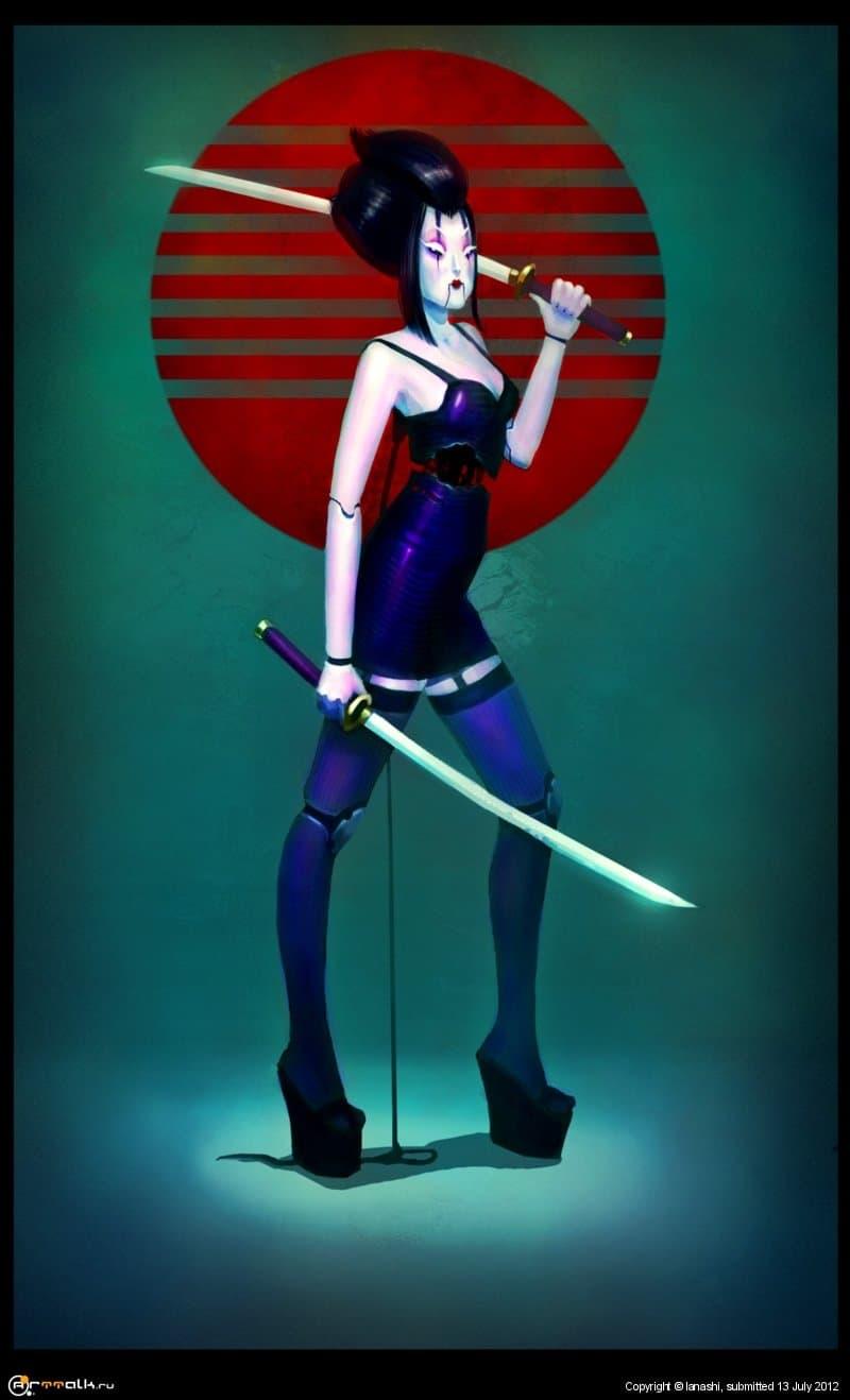 Porcelain Geisha