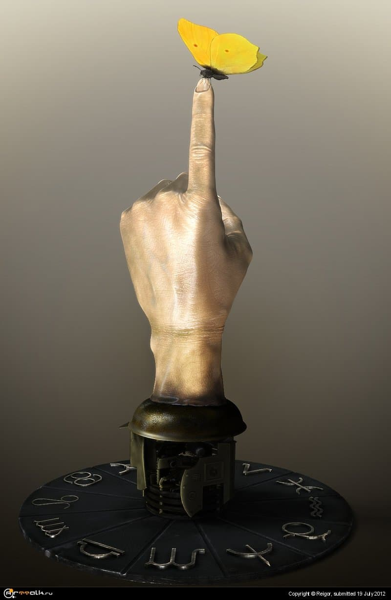 Когда мудрец показывает на небо,дурак смотрит на палец