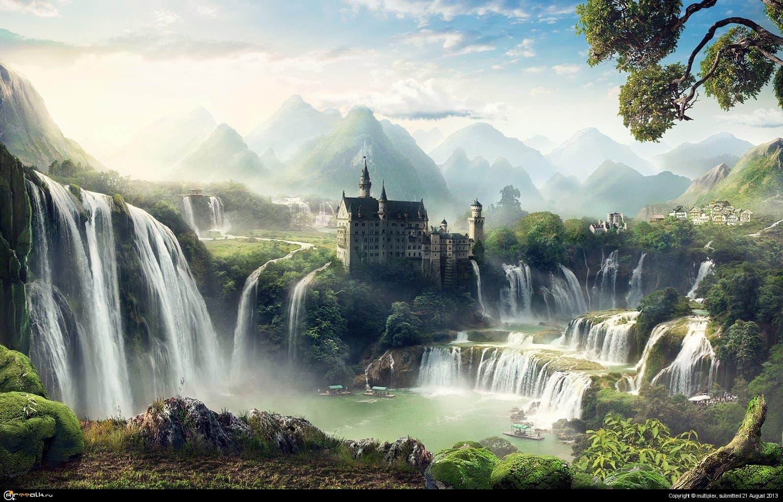 Мир водопадов