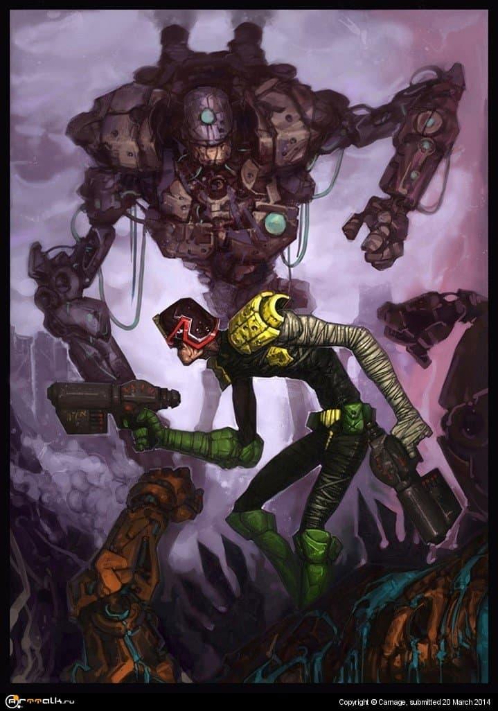 Dredd (comicon 2014)