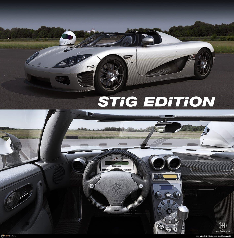 Koenigsegg Ccx Stig Edition In-game 3d Model Next Gen