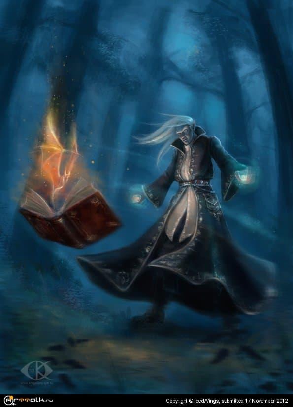 Темный эльф-чернокнижник