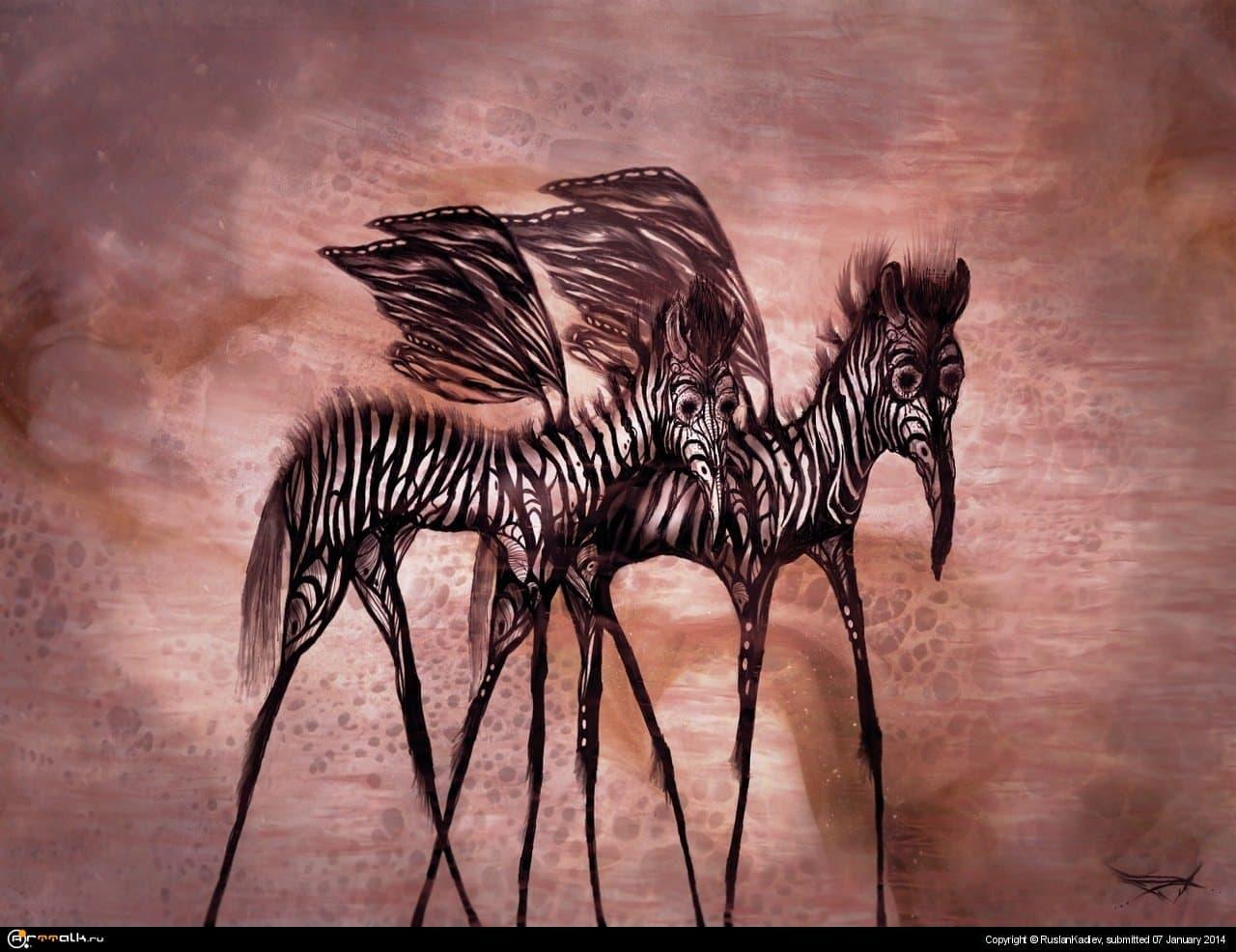 Зебра-Бабочки