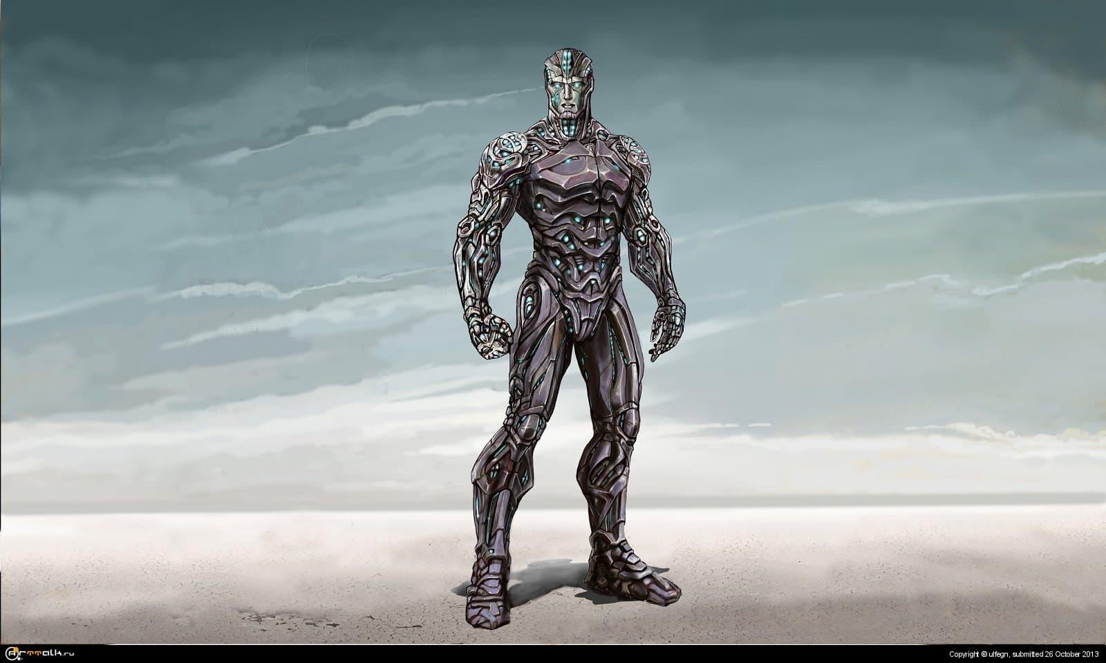 Прототип второстепенного персонажа для киностудии , первичные поиск дизайна .