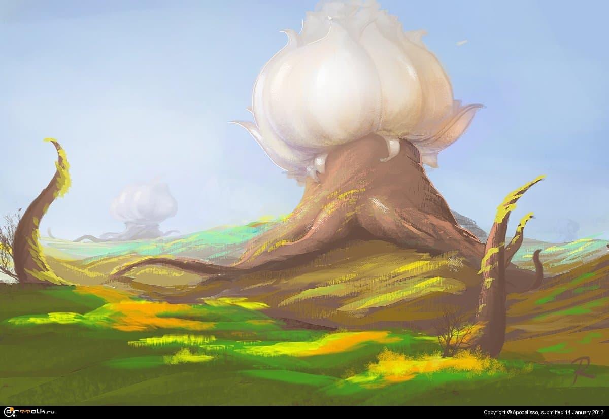 Цветочная полянв