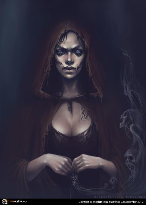 She, Who Weaves Nightmares/Плетущая кошмары
