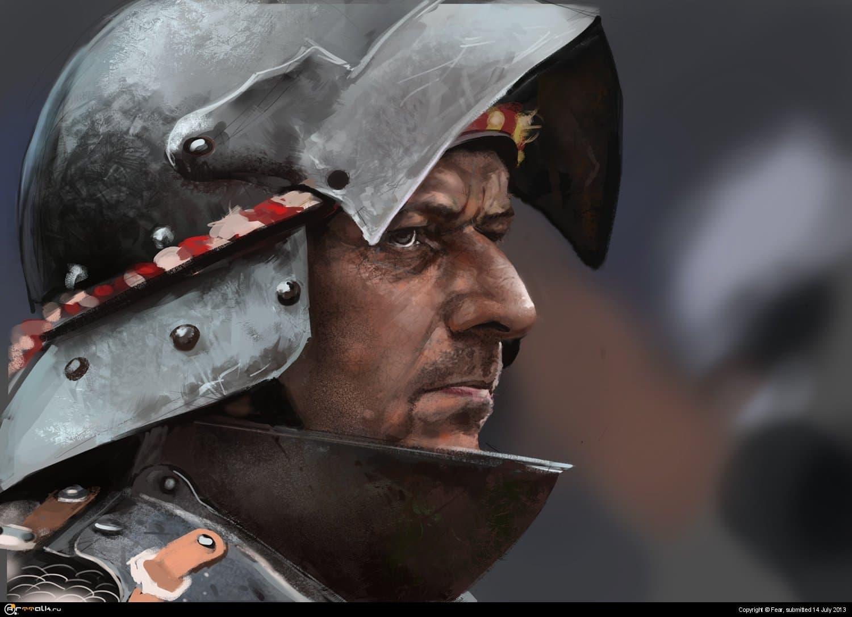 Portret Knight 1