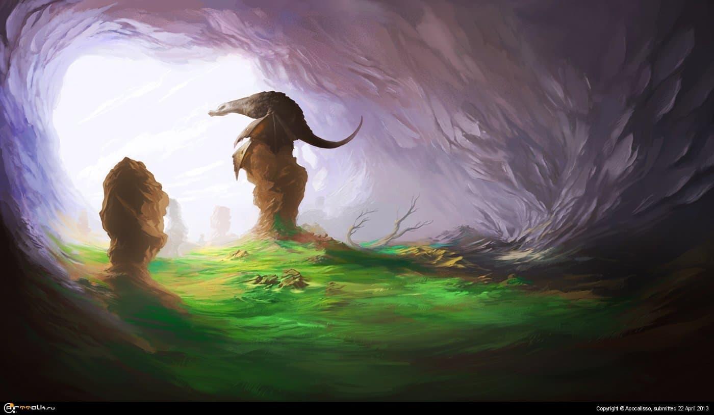Драконья пещера