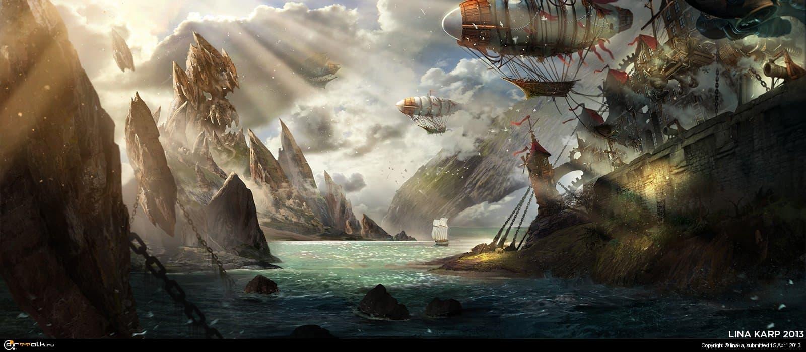 Пиратский пейзаж