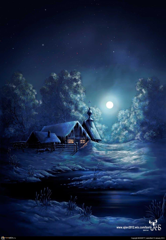 Ночь на хуторе...