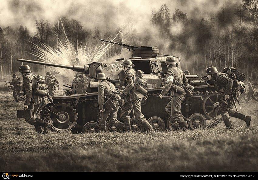 Soldaten Und Pzkwiii Bw
