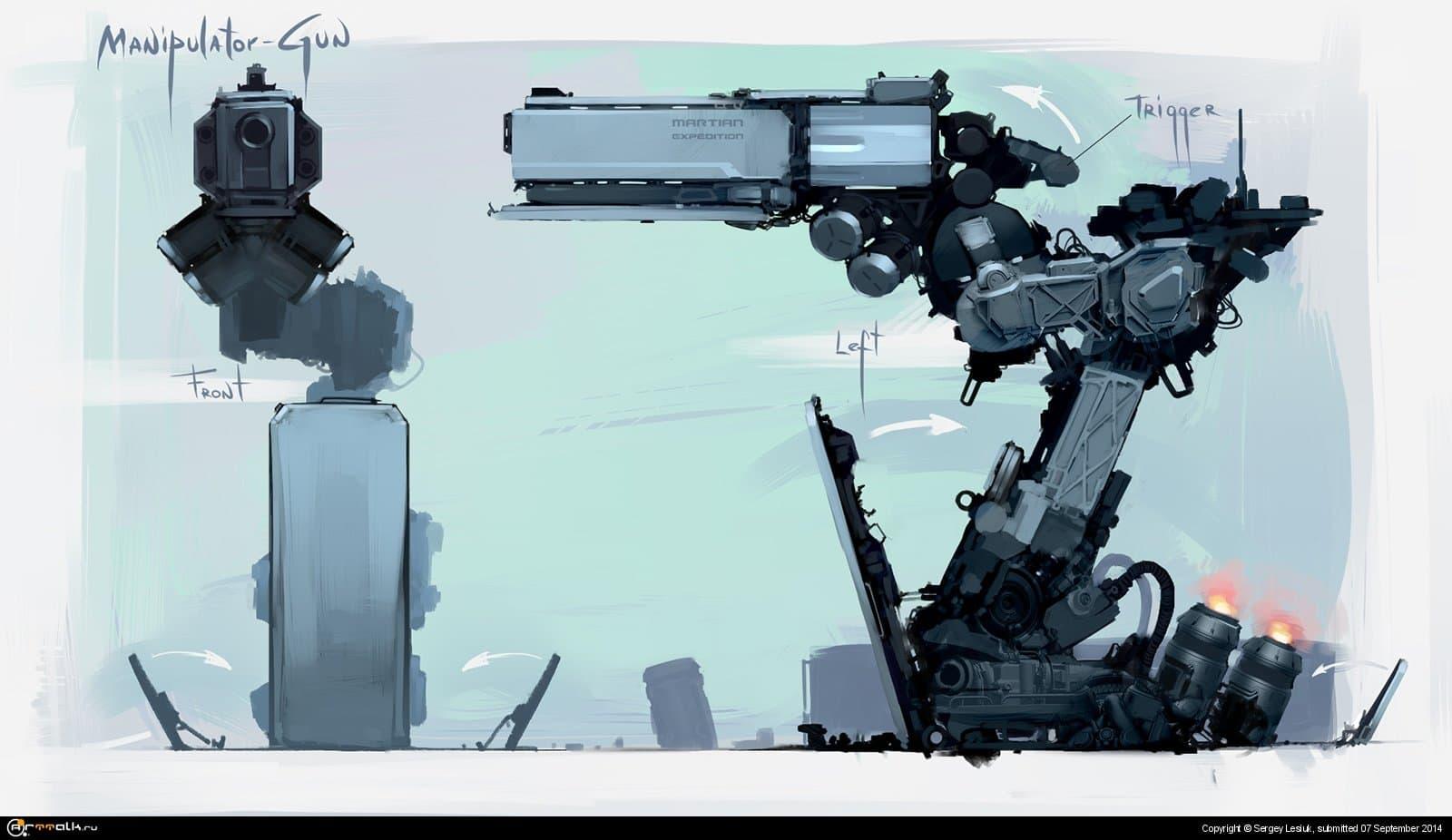 Manipulator Gun