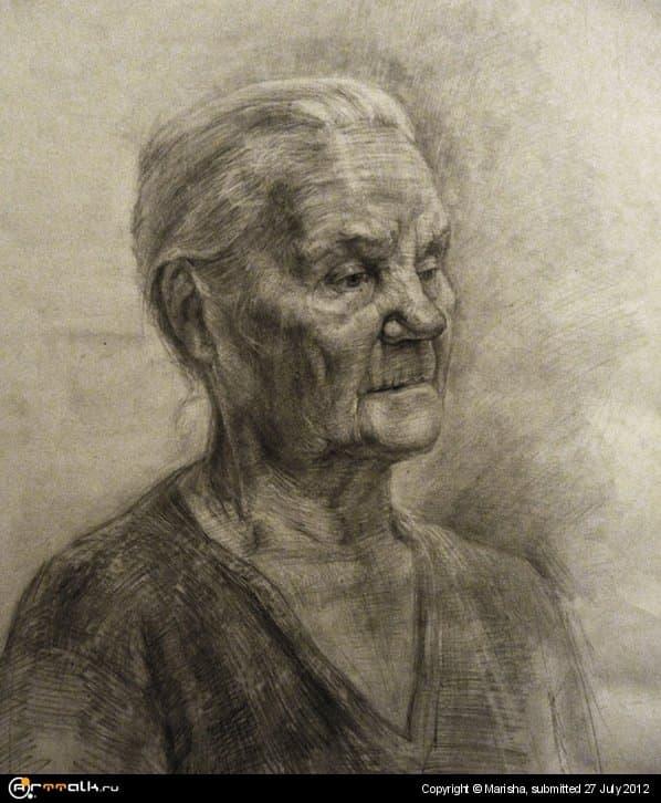 Портрет натурщицы Нины Павловны