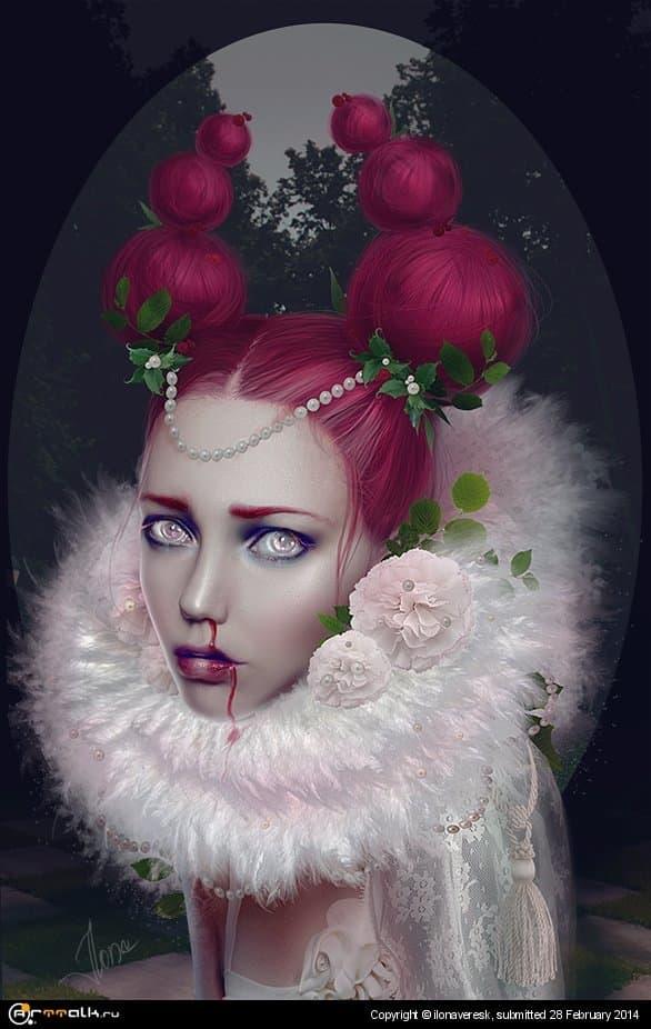 Rotten Fruit - Daphne Mezereum 2014