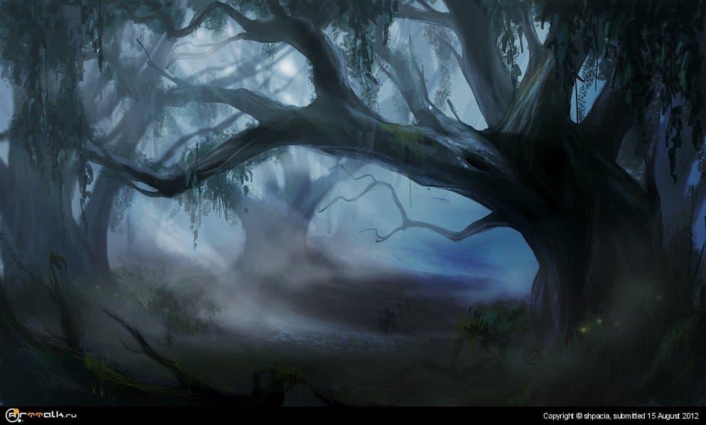 Икающий лес
