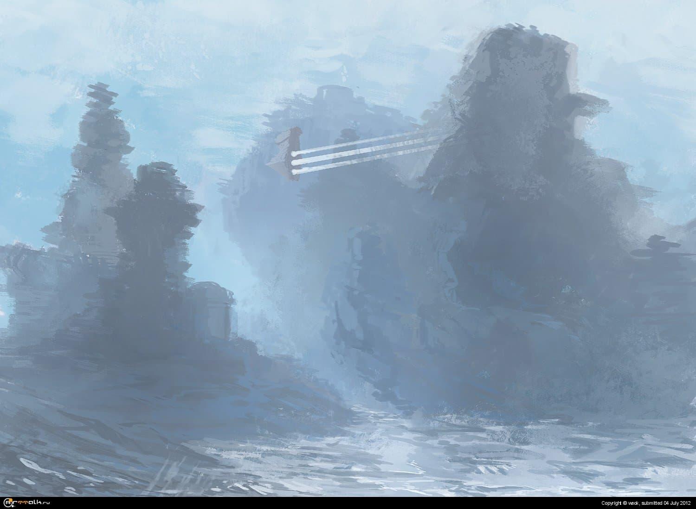 Ice World Sketch