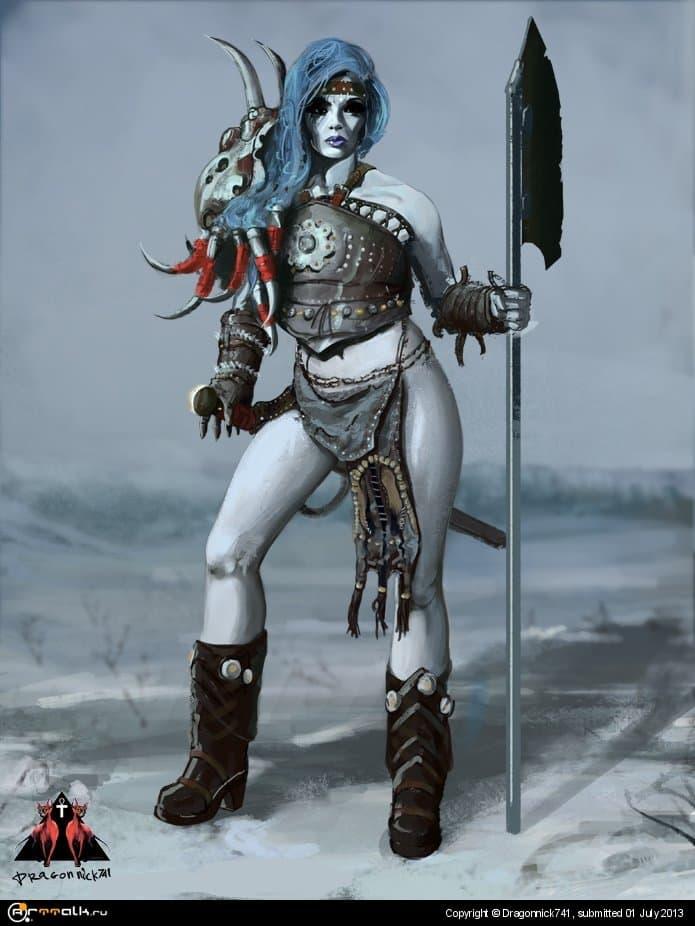 Lady Snow Horn