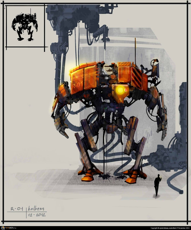 робот R-01