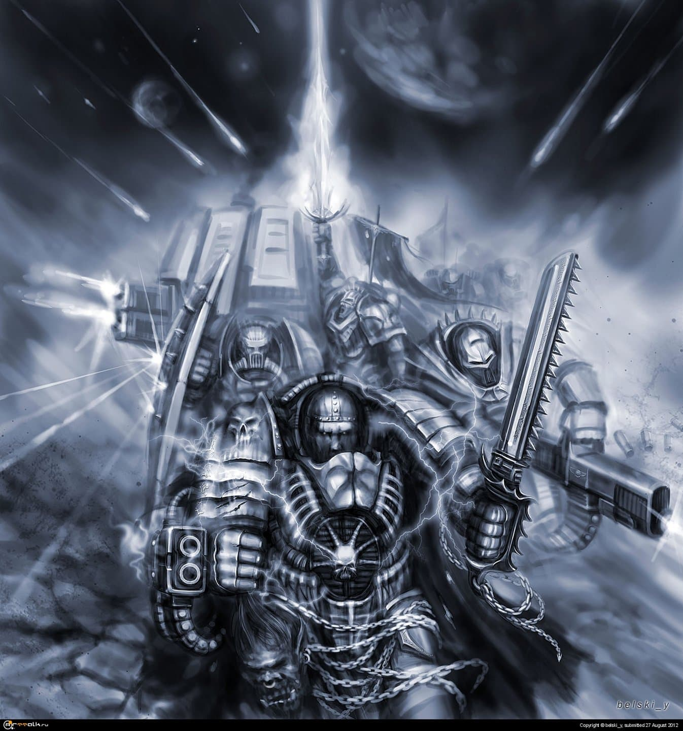 Burn The Mutants! Kill The Heretic! For The Emperor…o_o