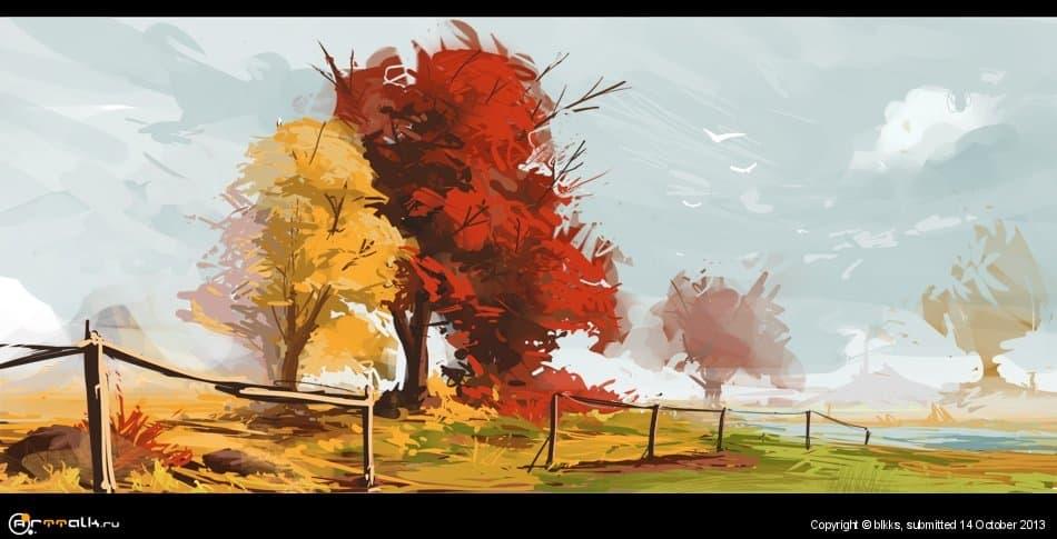 осень 1