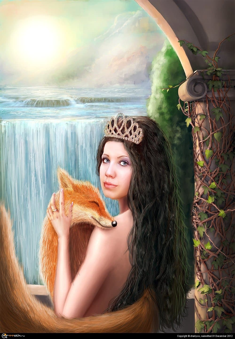 Girl With Fox