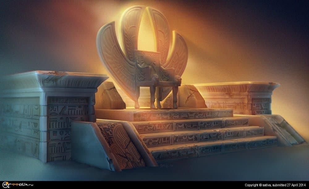 Элемент для египетской локации