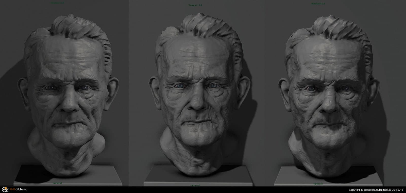 Old Man + ( Time Lapse Video)