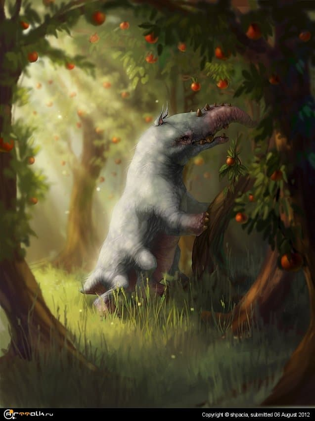 Creature Of Apple Island