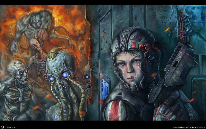 Фанарт по Mass Effect