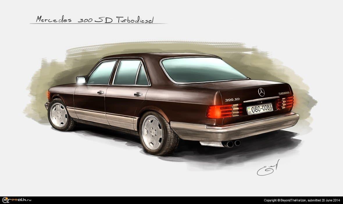 Mercedes 300 Sd