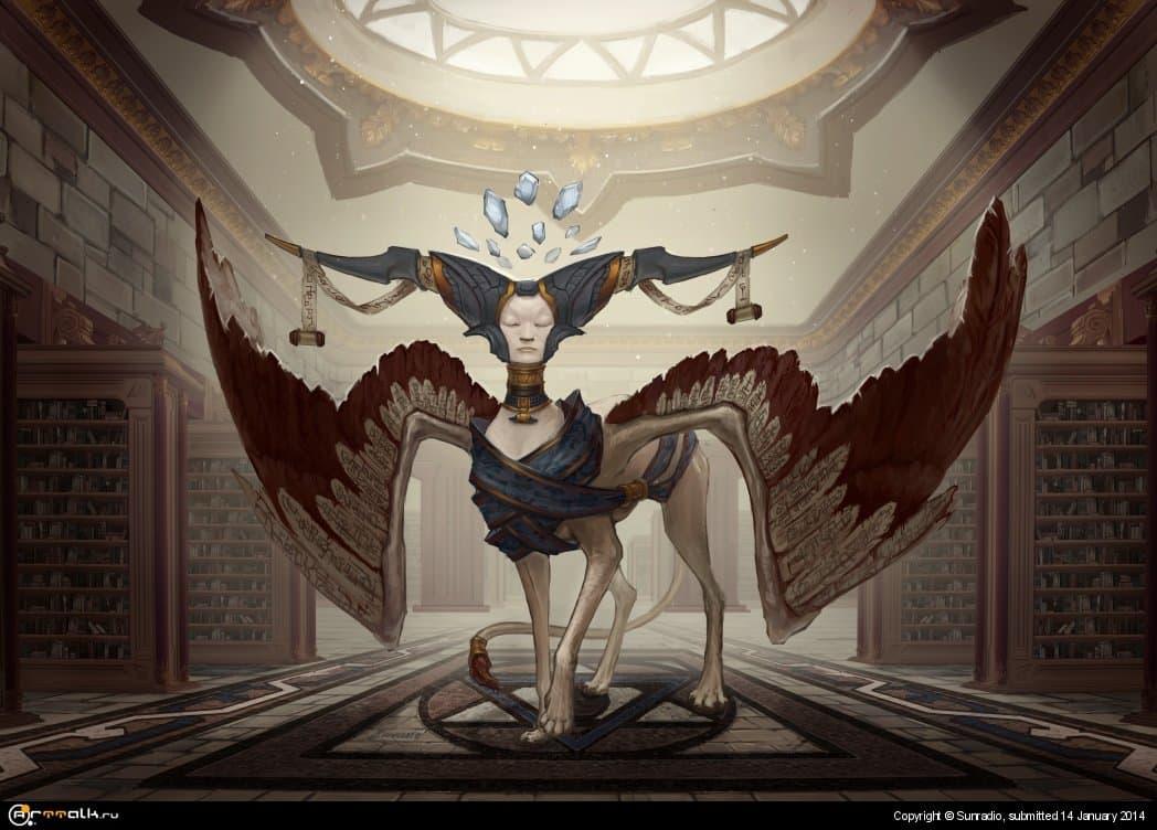 Sphinx Keeper Of Knowledge