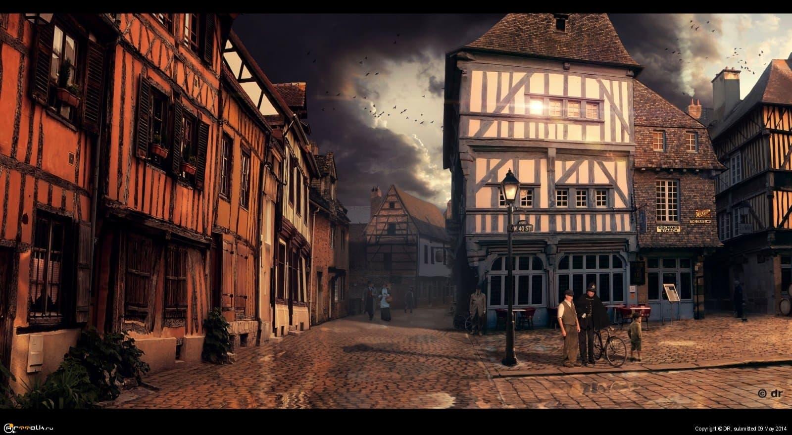 Старый город // Chester