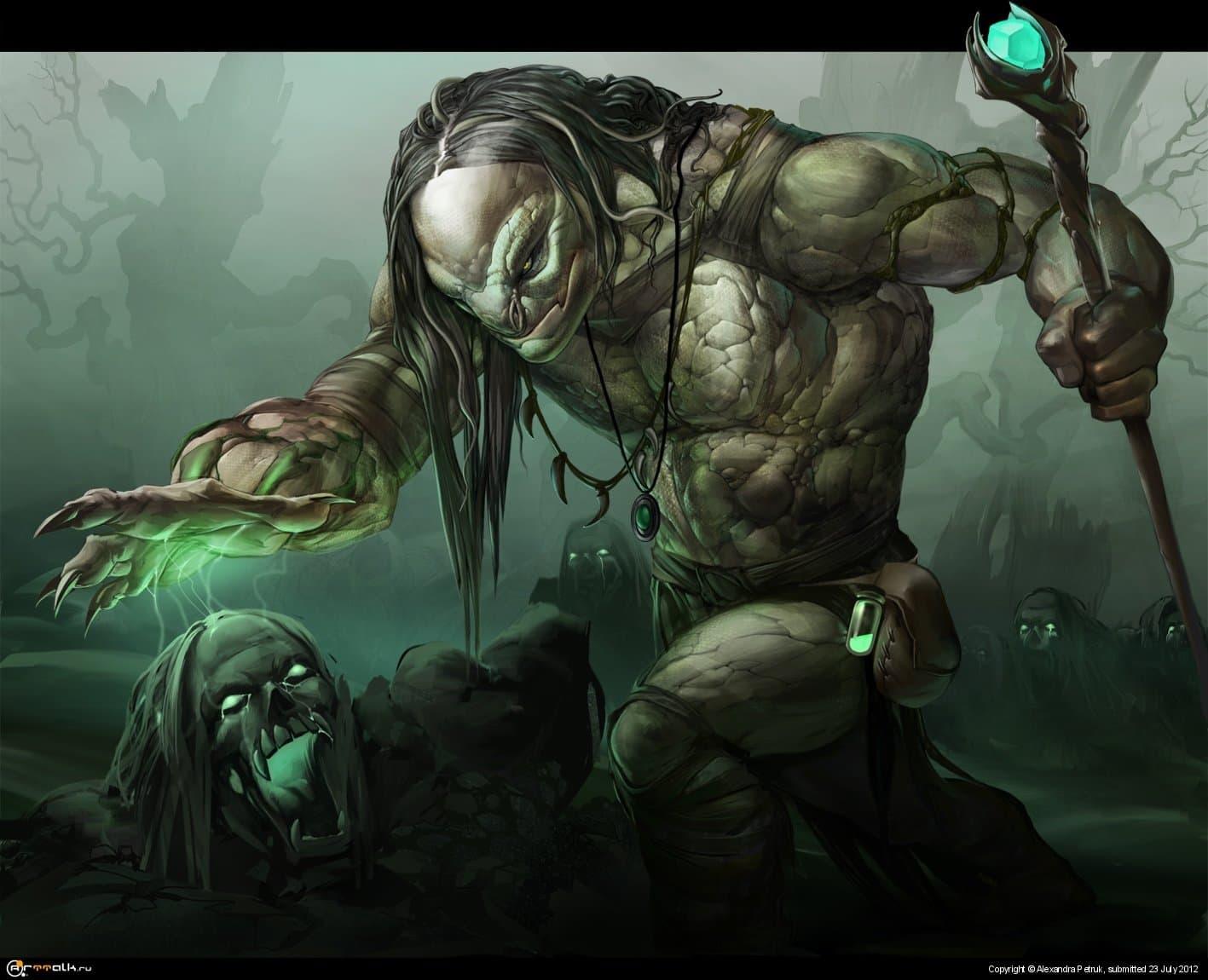 Swamp Warlock