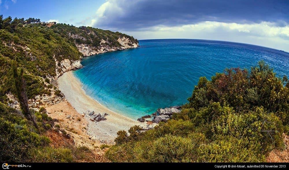Greece, The Beach On Zakynthos