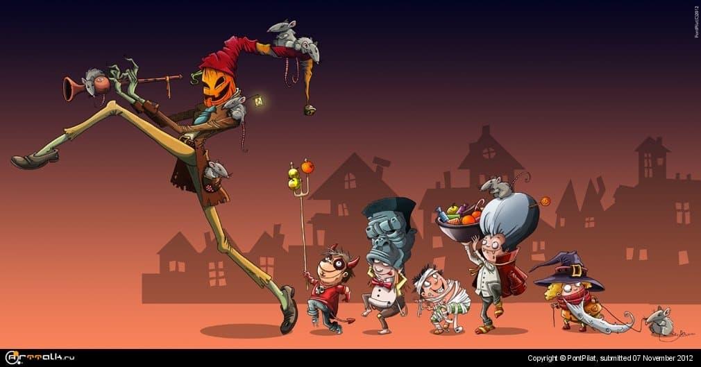 Хеллоуинский крысолов