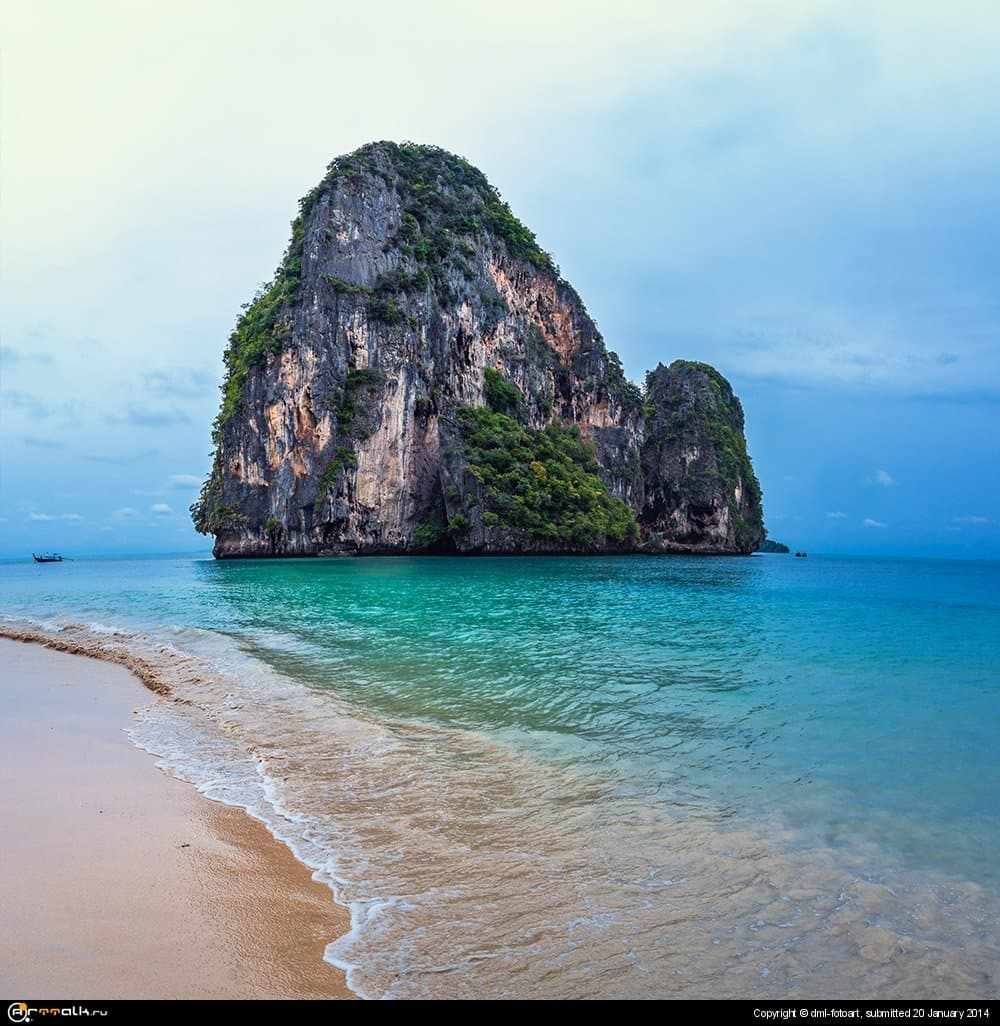 Thailand, Krabi, Railay.