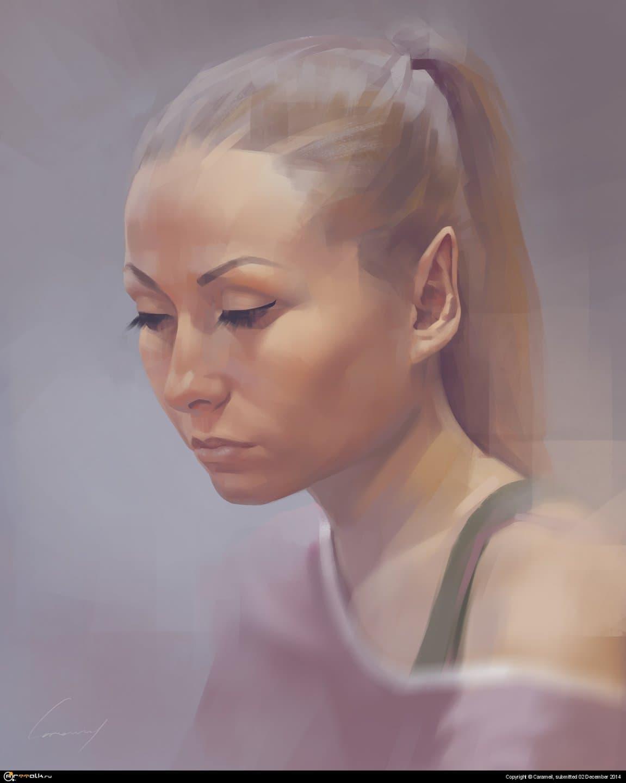 Портрет, с натуры