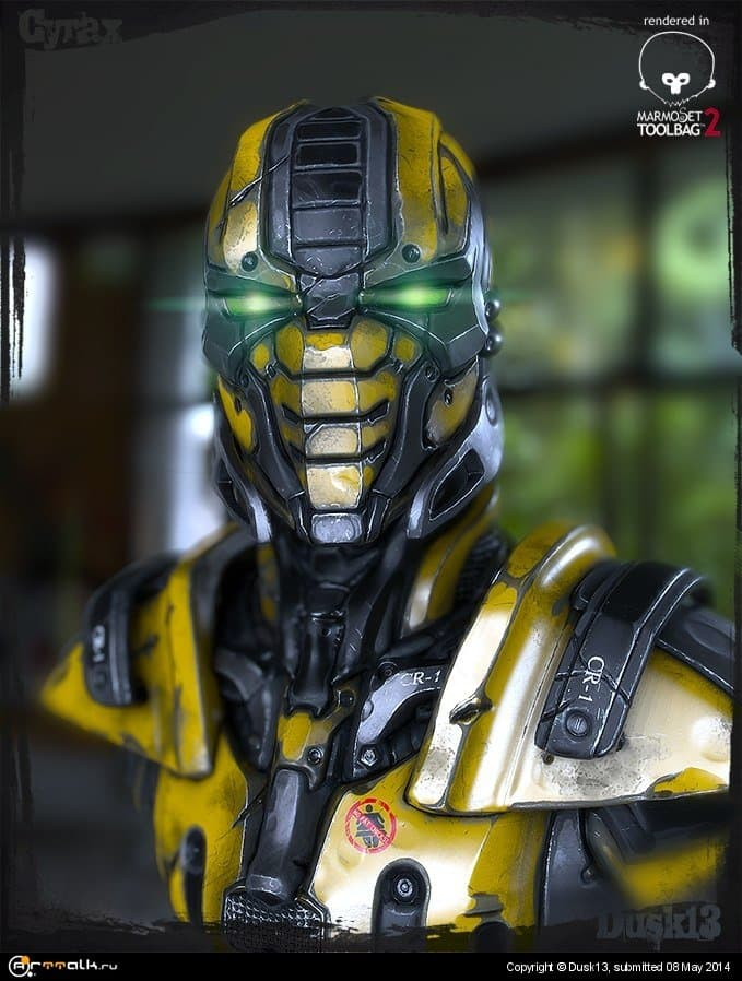 Cyrax Fan Art