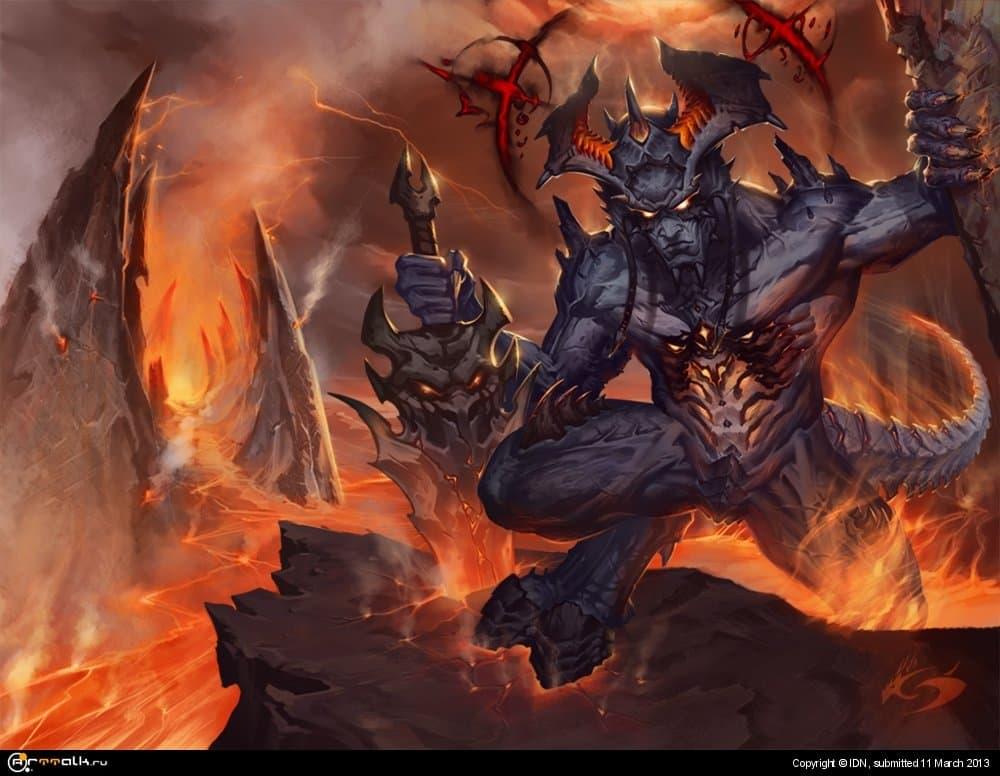 Демон Покровитель Тьмы