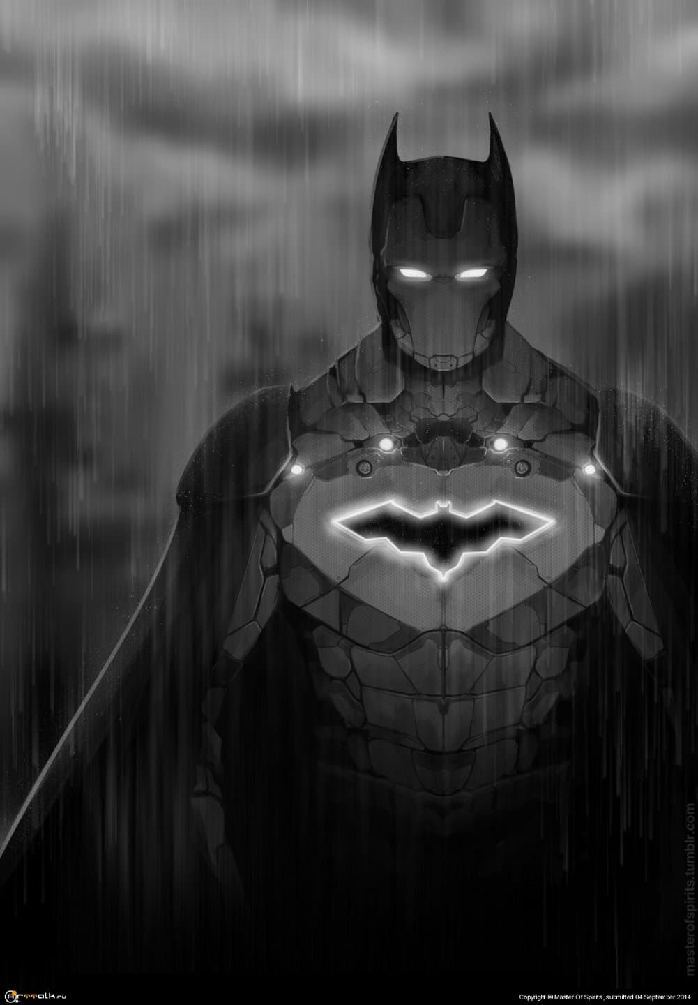 I Am Iron Batman!
