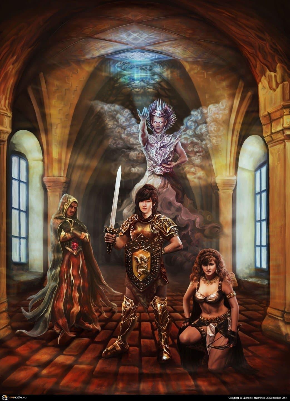 Mercenaries. Through Time And Worlds