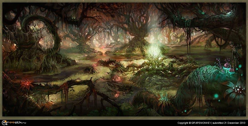 Heart Of Swamp
