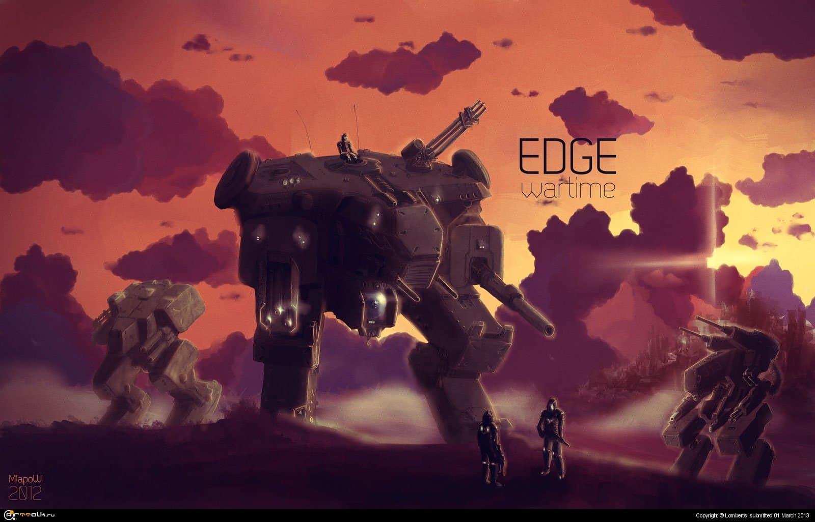 Edge Sunset