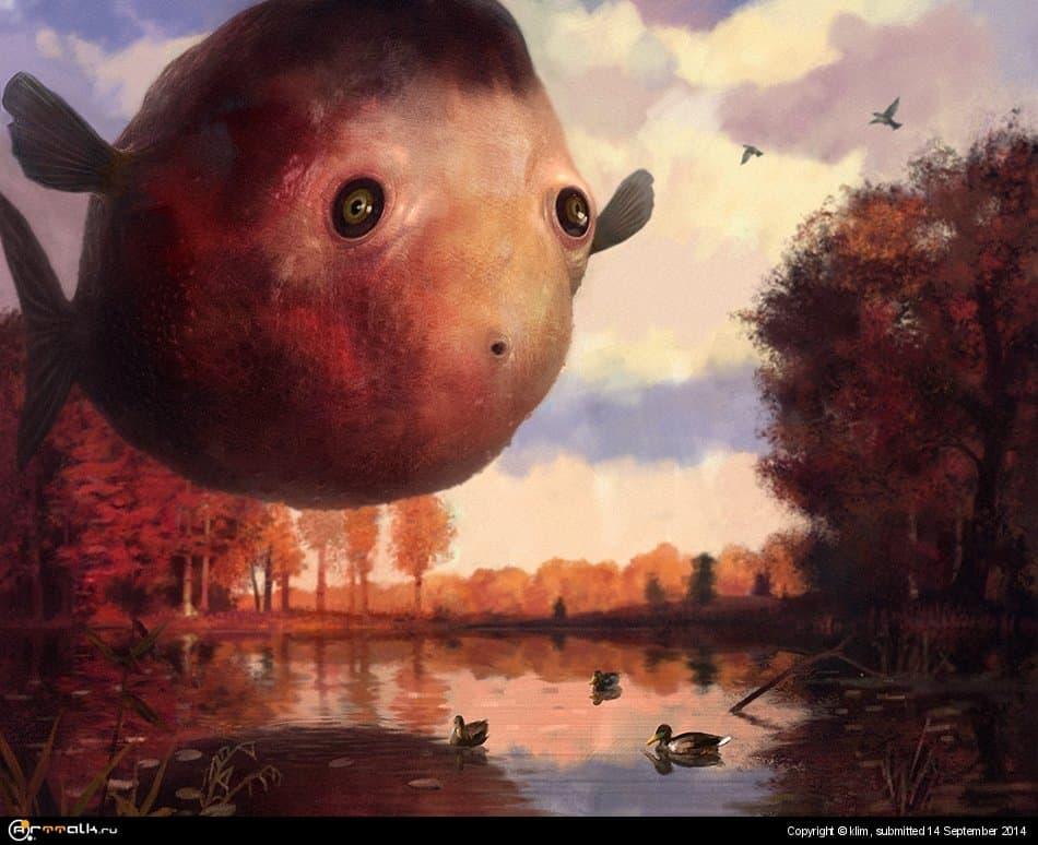 Осенняя рыба