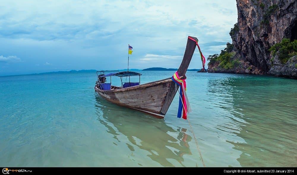 Thailand, Krabi, Railay.