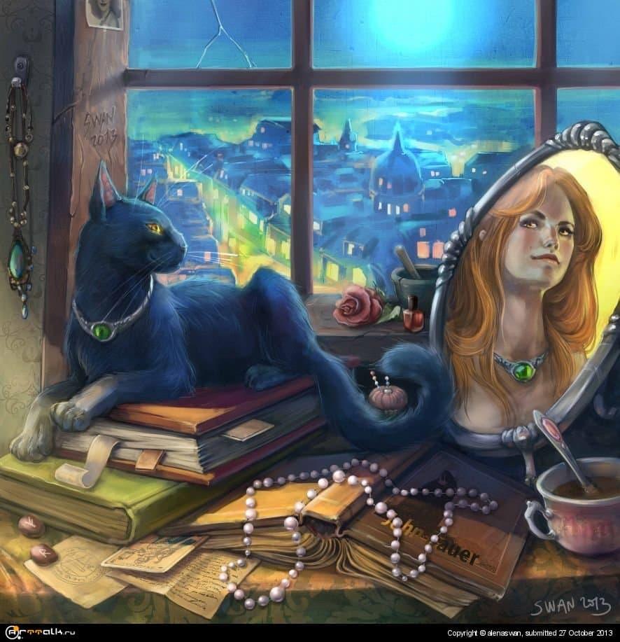 лунная ночь для парижской ведьмы