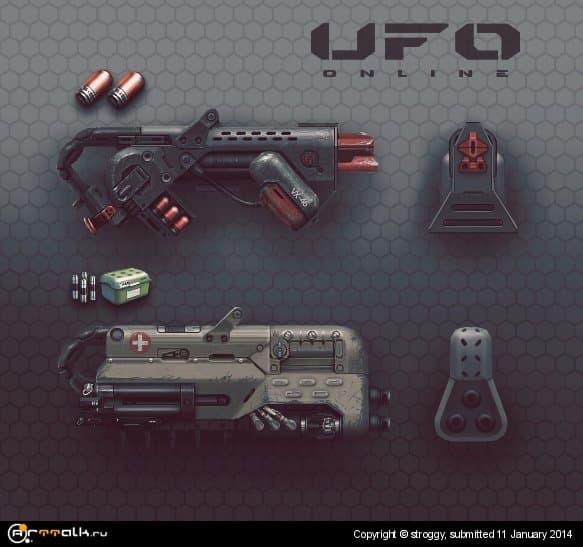 Концепт-арт оружия