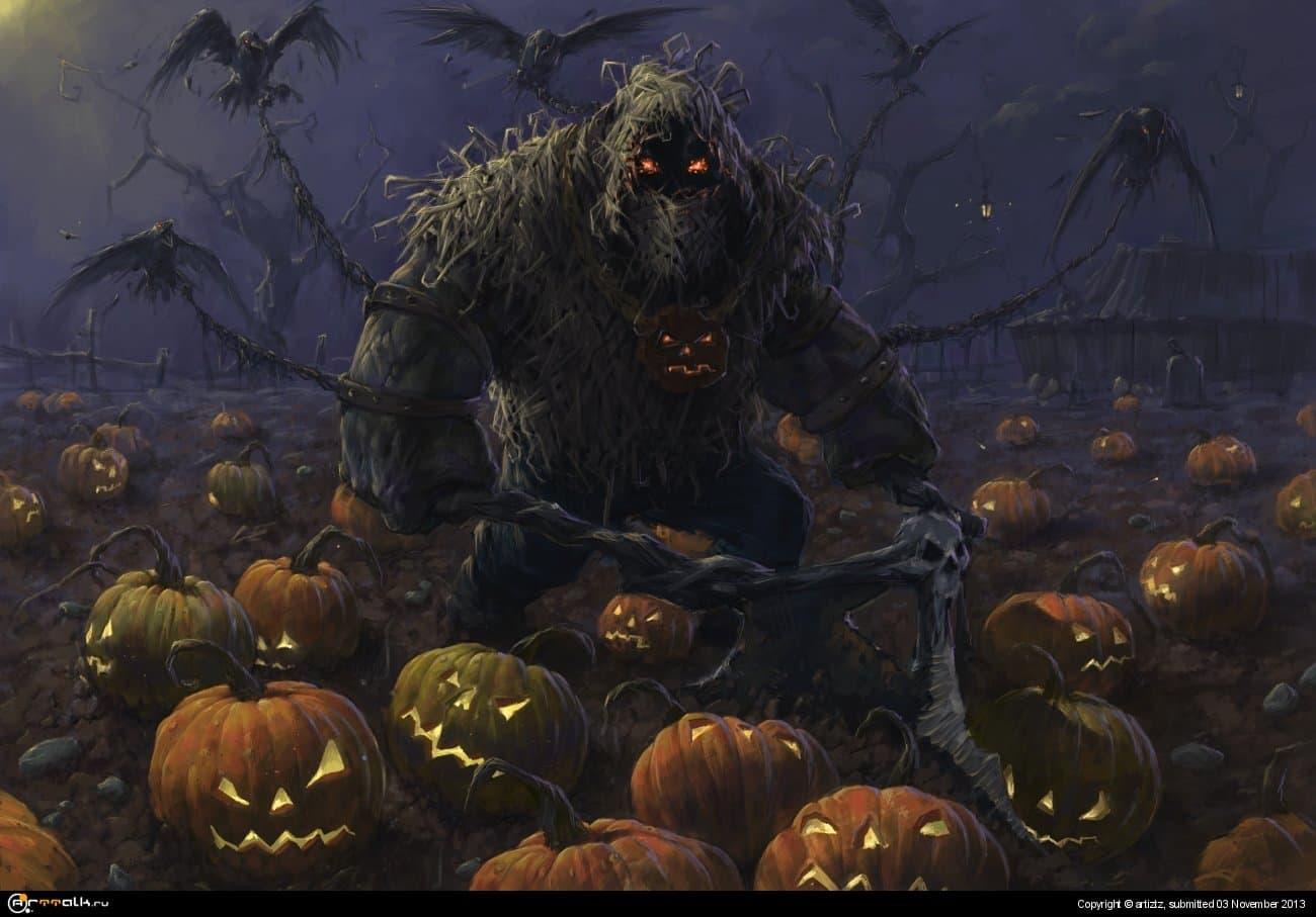 Хеллоуин. Ферма.